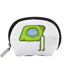 Funny Alien Monster Character Accessory Pouch (Small)