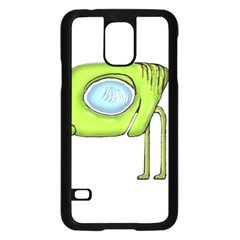 Funny Alien Monster Character Samsung Galaxy S5 Case (Black)