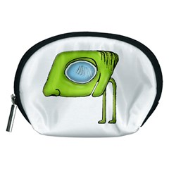 Funny Alien Monster Character Accessory Pouch (medium)