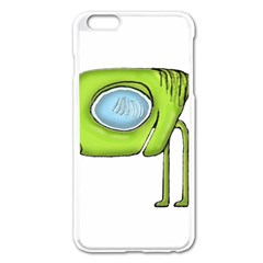 Funny Alien Monster Character Apple Iphone 6 Plus Enamel White Case