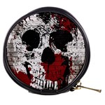 Skull Grunge Graffiti  Mini Makeup Case Front
