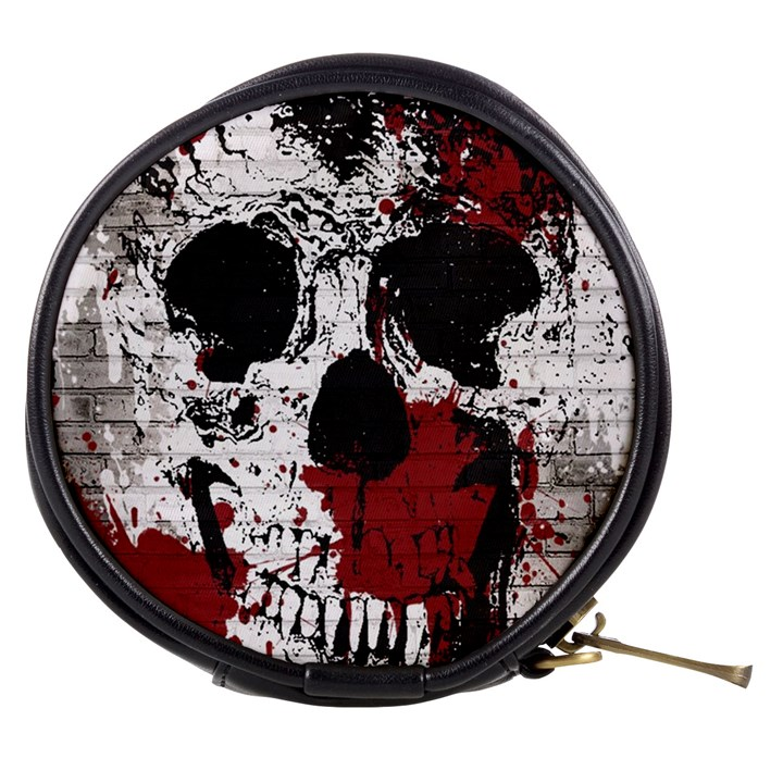 Skull Grunge Graffiti  Mini Makeup Case