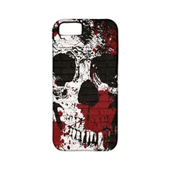 Skull Grunge Graffiti  Apple Iphone 5 Classic Hardshell Case (pc+silicone)