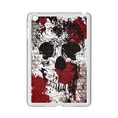 Skull Grunge Graffiti  Apple Ipad Mini 2 Case (white)