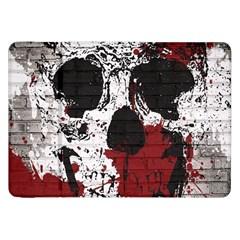 Skull Grunge Graffiti  Samsung Galaxy Tab 8 9  P7300 Flip Case
