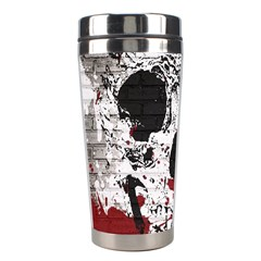 Skull Grunge Graffiti  Stainless Steel Travel Tumbler