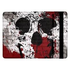 Skull Grunge Graffiti  Samsung Galaxy Tab Pro 12.2  Flip Case