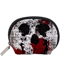 Skull Grunge Graffiti  Accessory Pouch (small)