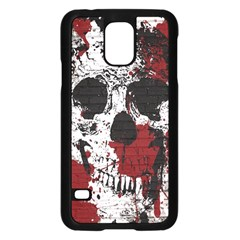 Skull Grunge Graffiti  Samsung Galaxy S5 Case (Black)