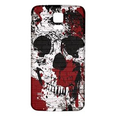 Skull Grunge Graffiti  Samsung Galaxy S5 Back Case (White)