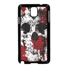 Skull Grunge Graffiti  Samsung Galaxy Note 3 Neo Hardshell Case (black)