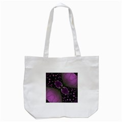 Lavender Lillies Tote Bag (White)