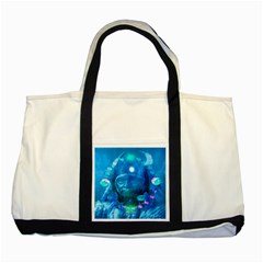 Magician  Two Toned Tote Bag