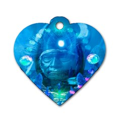 Magician  Dog Tag Heart (Two Sided)