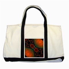 Elegant Delight Two Toned Tote Bag