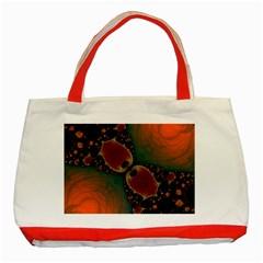 Elegant Delight Classic Tote Bag (Red)