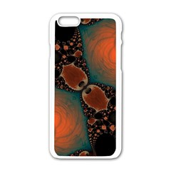 Elegant Delight  Apple Iphone 6 White Enamel Case