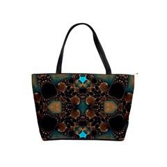 Elegant Caramel  Large Shoulder Bag