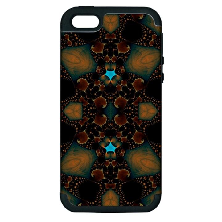 Elegant Caramel  Apple iPhone 5 Hardshell Case (PC+Silicone)