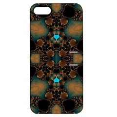 Elegant Caramel  Apple Iphone 5 Hardshell Case With Stand