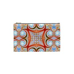 Fractal Abstract  Cosmetic Bag (small)