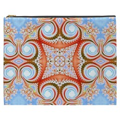 Fractal Abstract  Cosmetic Bag (xxxl)