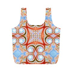 Fractal Abstract  Reusable Bag (M)