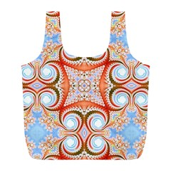 Fractal Abstract  Reusable Bag (l)