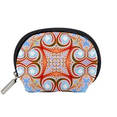 Fractal Abstract  Accessory Pouch (Small)