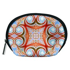 Fractal Abstract  Accessory Pouch (Medium)