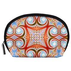 Fractal Abstract  Accessory Pouch (Large)