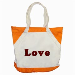 Love Typography Text Word Accent Tote Bag
