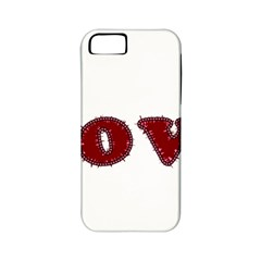 Love Typography Text Word Apple Iphone 5 Classic Hardshell Case (pc+silicone)