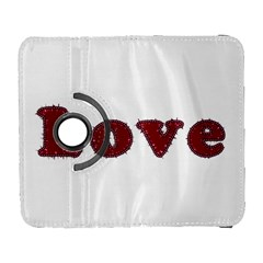 Love Typography Text Word Samsung Galaxy S  III Flip 360 Case