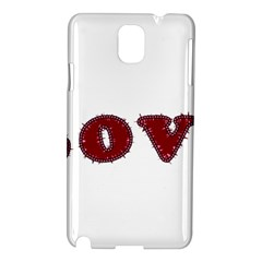 Love Typography Text Word Samsung Galaxy Note 3 N9005 Hardshell Case