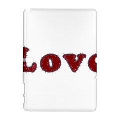 Love Typography Text Word Samsung Galaxy Note 10.1 (P600) Hardshell Case