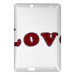 Love Typography Text Word Kindle Fire HD (2013) Hardshell Case