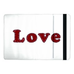 Love Typography Text Word Samsung Galaxy Tab Pro 10 1  Flip Case