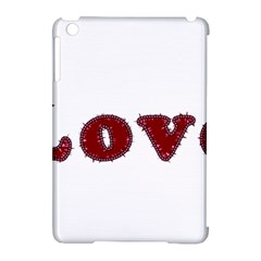 Love Typography Text Word Apple iPad Mini Hardshell Case (Compatible with Smart Cover)