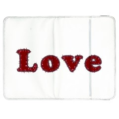 Love Typography Text Word Samsung Galaxy Tab 7  P1000 Flip Case