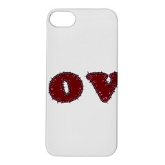 Love Typography Text Word Apple iPhone 5S Hardshell Case