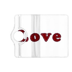 Love Typography Text Word Kindle Fire HD (2013) Flip 360 Case