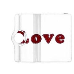 Love Typography Text Word Kindle Fire HDX 8.9  Flip 360 Case