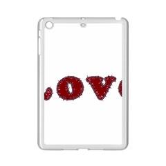 Love Typography Text Word Apple Ipad Mini 2 Case (white)