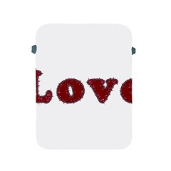 Love Typography Text Word Apple Ipad Protective Sleeve