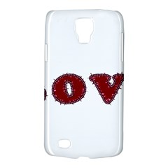 Love Typography Text Word Samsung Galaxy S4 Active (i9295) Hardshell Case
