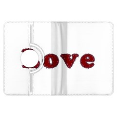 Love Typography Text Word Kindle Fire HDX Flip 360 Case