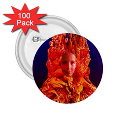 Organic Meditation 2 25  Button (100 Pack)
