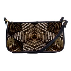 Golden Animal Print Pattern  Evening Bag
