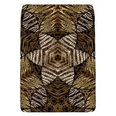 Golden Animal Print Pattern  Removable Flap Cover (large)